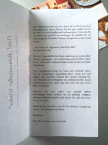 Werbeanschreiben für Gastrobild für die Branchen Hotel/Gastronomie (Print)
