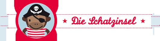 Logo der Schatzinsel Berlin, dem Online-Shop für einzigartiges Kinderspielzeug