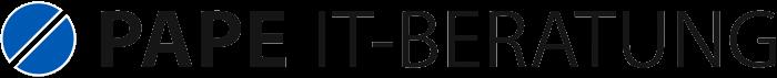 Logo von PAPE IT-Beratung